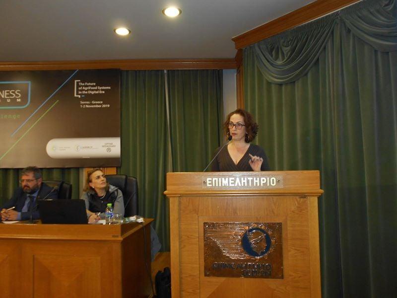 Η Πολύμορφη στο 2ο Διεθνές Αγροτοδιατροφικό Συνέδριο στις Σέρρες